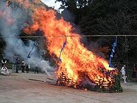 塩江温泉篝山湯ノ薬師 大護摩供火渡り式6