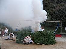 塩江温泉篝山湯ノ薬師 大護摩供火渡り式4