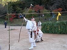 塩江温泉篝山湯ノ薬師 大護摩供火渡り式2