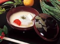 香川の餡餅雑煮