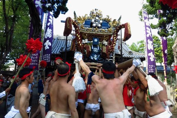 姫路市飾磨区天神 浜の宮天満宮 浜の宮天満宮秋祭り
