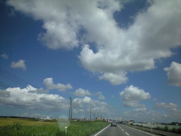 9月14日の空