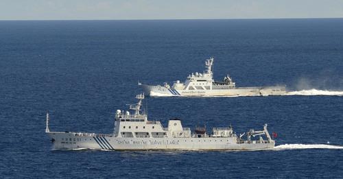 中国領海侵犯