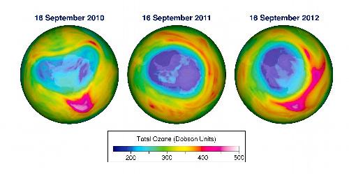 南極オゾンホール