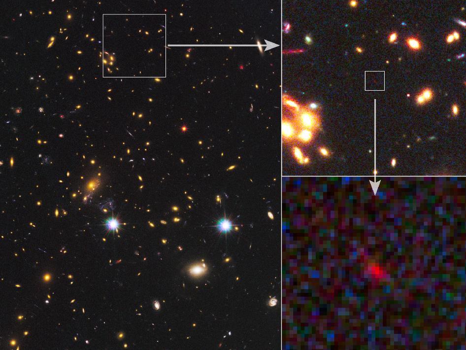 もっとも遠い銀河