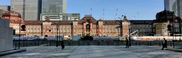 東京駅全容