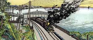 品川の汽車