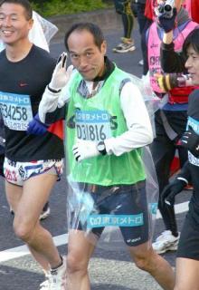 東京マラソン東国春