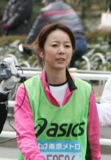東京マラソン宮崎アナ