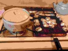 焼きはまぐりあさりココナツミルク煮