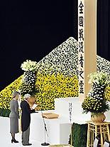 終戦記念日天皇