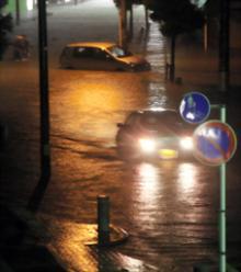 岡崎市浸水