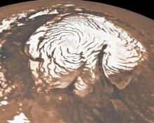 自分なりの判断のご紹介-火星の渦巻き