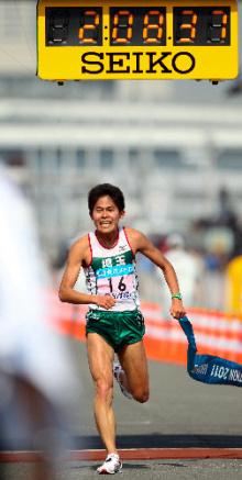 自分なりの判断のご紹介-東京マラソン川内