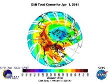 自分なりの判断のご紹介-北極圏オゾン層