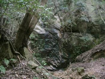二の滝の滝壺8
