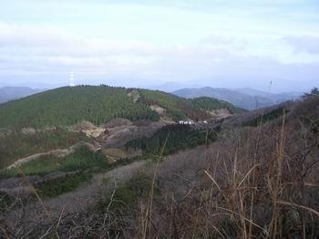 天川登山口全景19