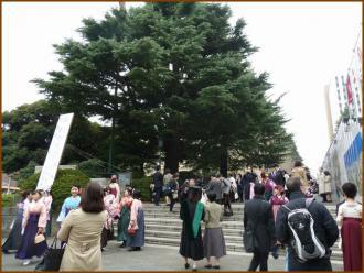 20130325 階段 W卒業式