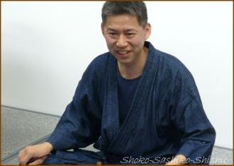 20141113 北澤先生 1 能面