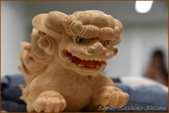 20141115 神社獅子 能面