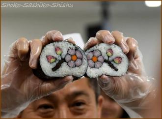 20141126 デモ 2 飾り寿司