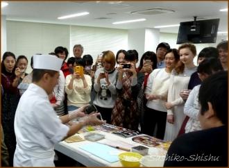 20141126 デモ 3 飾り寿司