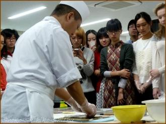 20141126 デモ1 飾り寿司