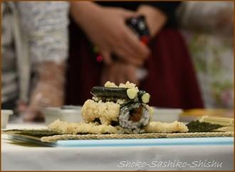 20141129 デモ2 飾り寿司