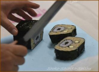 20141129 デモ4 飾り寿司