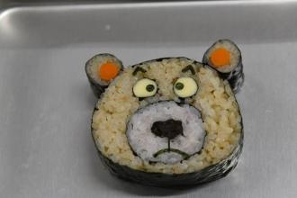 20141129 デモ5 飾り寿司
