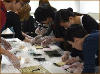 20141129 学生 2 飾り寿司
