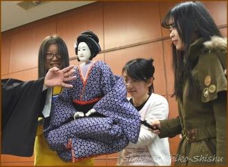 20141214 体験 4 文楽人形