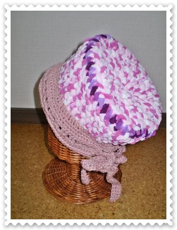 キッズ春の帽子1