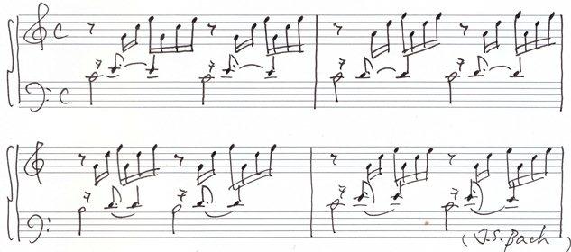 バッハ 平均律クラヴィーア曲集第一巻第一曲「プレリュード 」