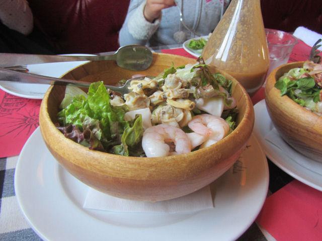 松の実のサラダ