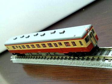 ロクハン キハ52 国鉄標準色