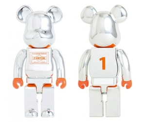 PORTER SILVER PLATED BE@RBRICK 400%