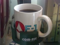 マクロスのコーヒーカップ。