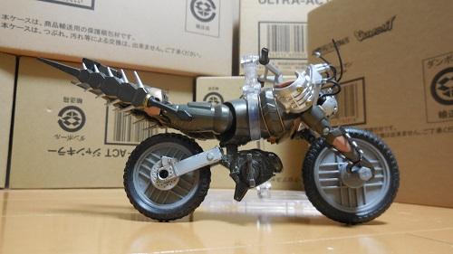 サイコバイク変形