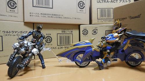 バイク同士の