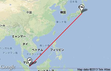 SQ633 シンガポール航空,羽田~ランカウイ,SQ633~AK1703