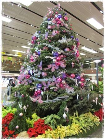 チャンギ国際空港クリスマス,チャンギ空港イルミネーション