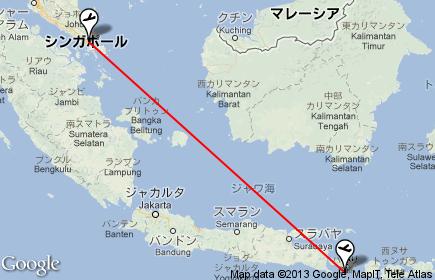 SQ941 DPS~SIN,デンパサールからシンガポール,バリ島からシンガポール,SQ941クチコミ,シンガポール航空 SQ941ビジネスクラス,バリ島 シンガポール乗り換え