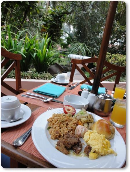 ジョグジャカルタメリアプロサニ朝食,メリアプロサニくちこみ