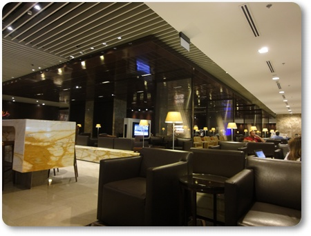 チャンギクリスラウンジ,チャンギ空港ビジネスラウンジ,シガポール航空バリ発シンガポール