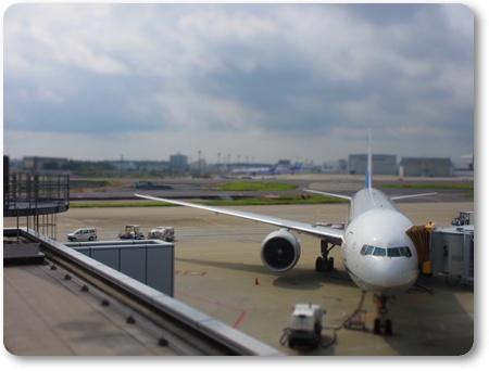 ANA NH937 767-300,ANAジャカルタ経由ジョグジャカルタ