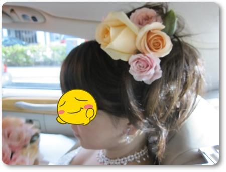 グアム挙式花冠,グアムヒルトン挙式,グアムで結婚式