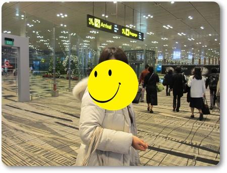 チャンギ空港イミグレーション,シンガポール イミグレ,シンガポール経由ランカウイ