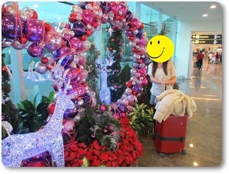 チャンギ空港ターミナル1,チャンギ空港エアアジアレッドカーペット,シンガポールエアアジア乗り換え