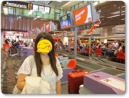 チャンギ空港 エアアジア 優先搭乗,チャンギ乗り換えランカウイ,エアアジア ランカウイ